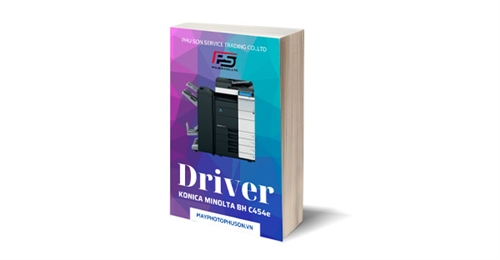 Download driver Máy Photocopy Konica Minolta Bizhub C454e