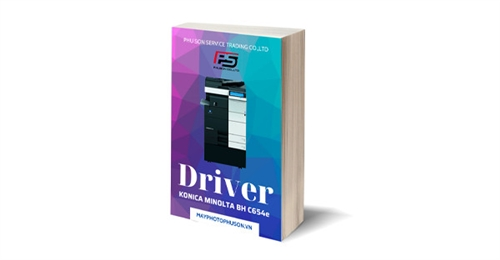 Download driver Máy Photocopy Konica Minolta Bizhub C654e