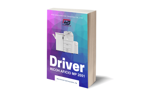 Download driver máy photocopy Ricoh Aficio MP 2051