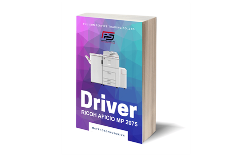 Download driver máy photocopy Ricoh Aficio MP 2075