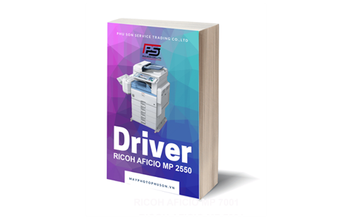 Download driver máy photocopy Ricoh Aficio MP 2500