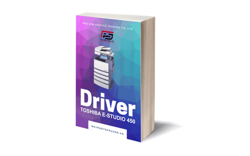 Download driver Máy Photocopy Toshiba e-Studio 450