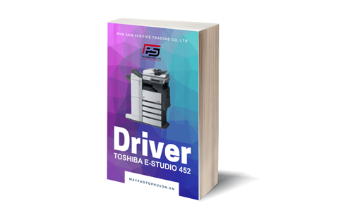 Download driver Máy Photocopy Toshiba e-Studio 452