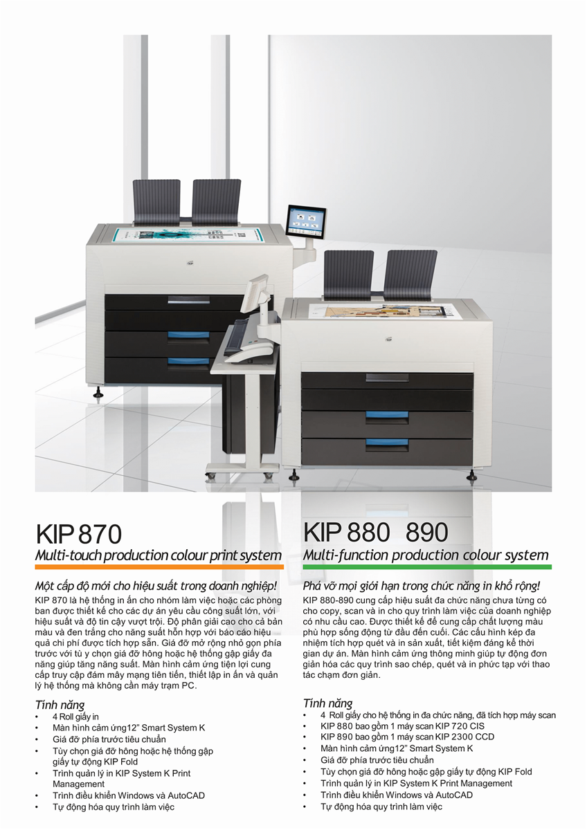 KIP 880 Laser Wide Format Printer Vietnam