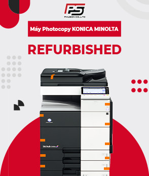 Máy Photocopy KONICA MINOALTA Refurbished