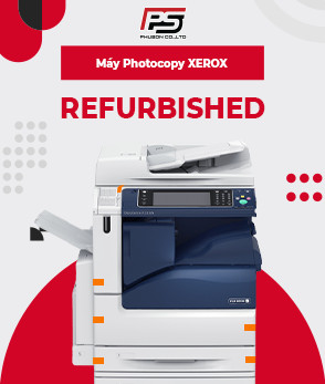 Máy photocopy XEROX Refurbished