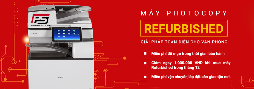 Máy Photocopy Refurbished