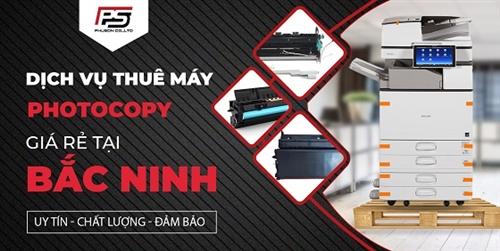 Dịch vụ thuê máy photocopy giá rẻ tại Bắc Ninh