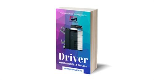 Download driver Máy Photocopy Konica Minolta Bizhub 454e