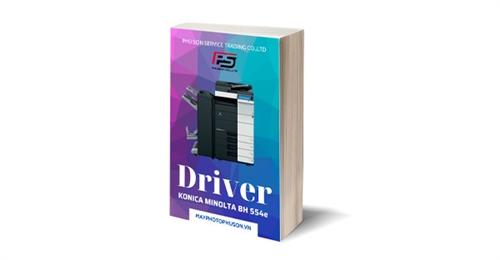Download driver Máy Photocopy Konica Minolta Bizhub 554e