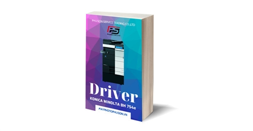 Download driver Máy Photocopy Konica Minolta Bizhub 754e