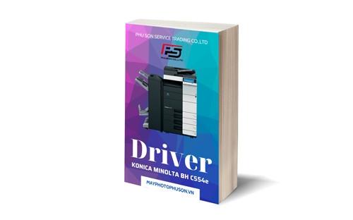 Download driver Máy Photocopy Konica Minolta Bizhub C554e
