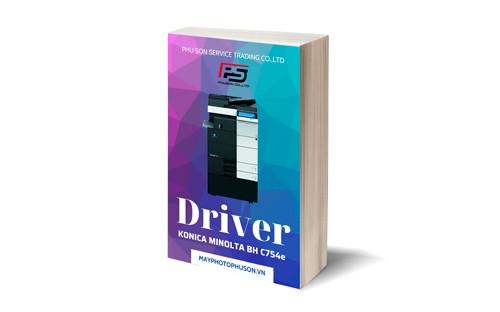 Download driver Máy Photocopy Konica Minolta Bizhub C754e