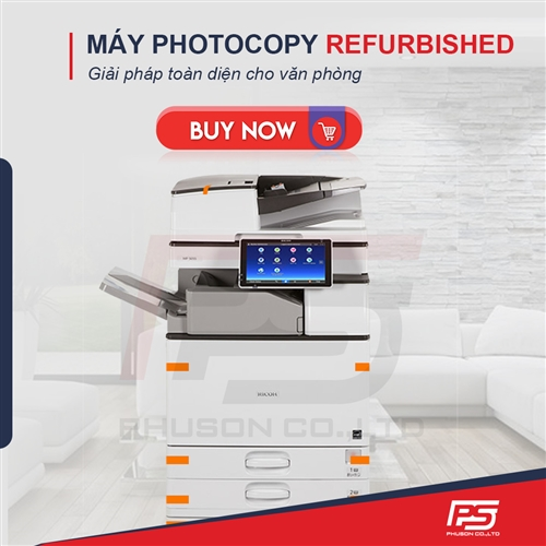 4 Lý Do Nên Mua Máy Photocopy Refurbished