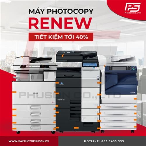 Lựa chọn máy Photocopy Renew - Xu hướng năm 2021