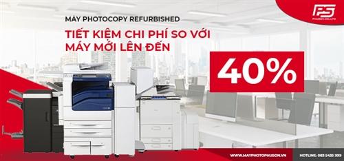 Sự khác biệt giữa máy photocopy Refurbished và máy photocopy mới chính hãng