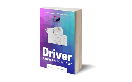 Download driver máy photocopy Ricoh Aficio MP 2060