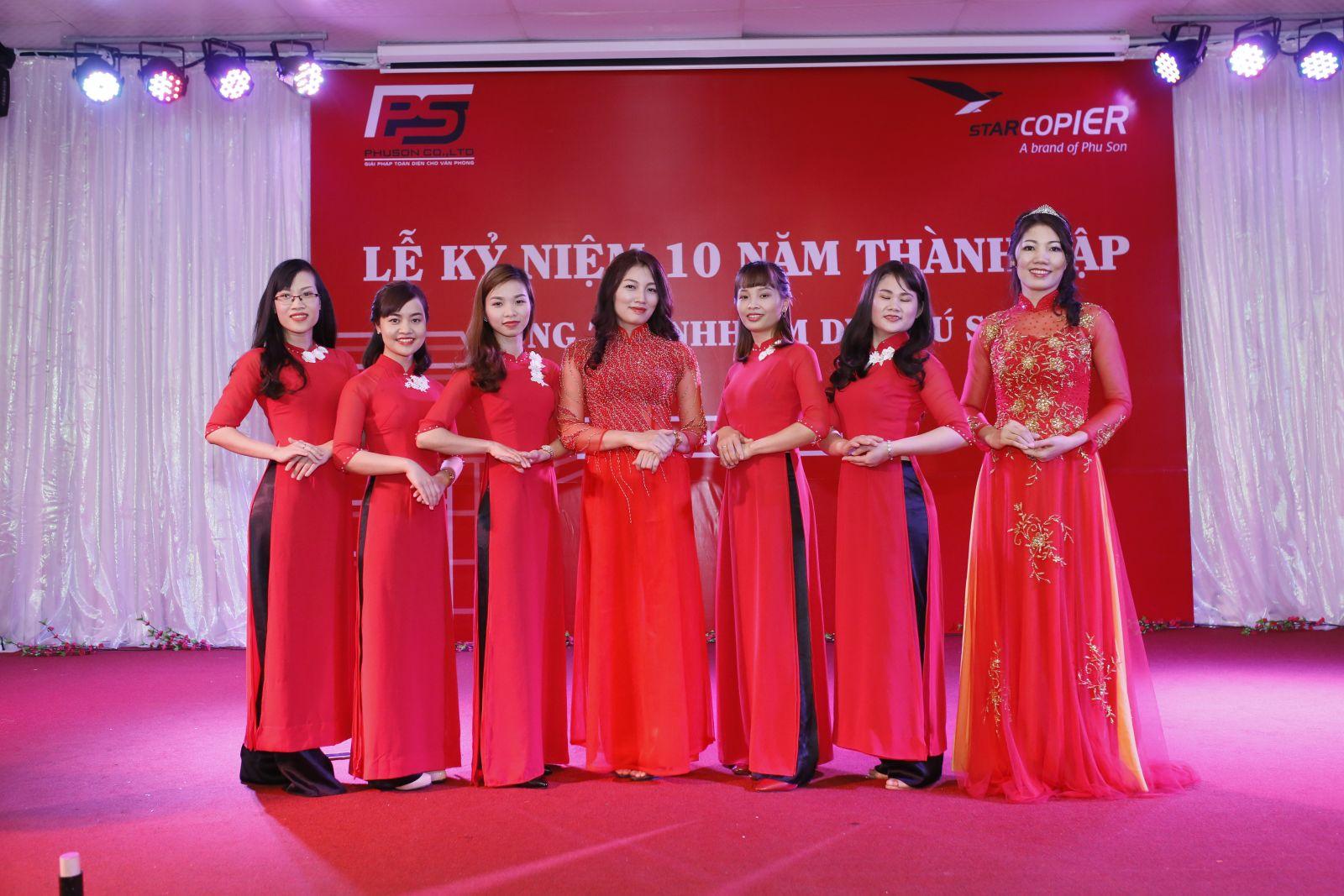 Long trọng Lễ kỷ niệm 10 năm thành lập Công ty TNHH TMDV Phú Sơn