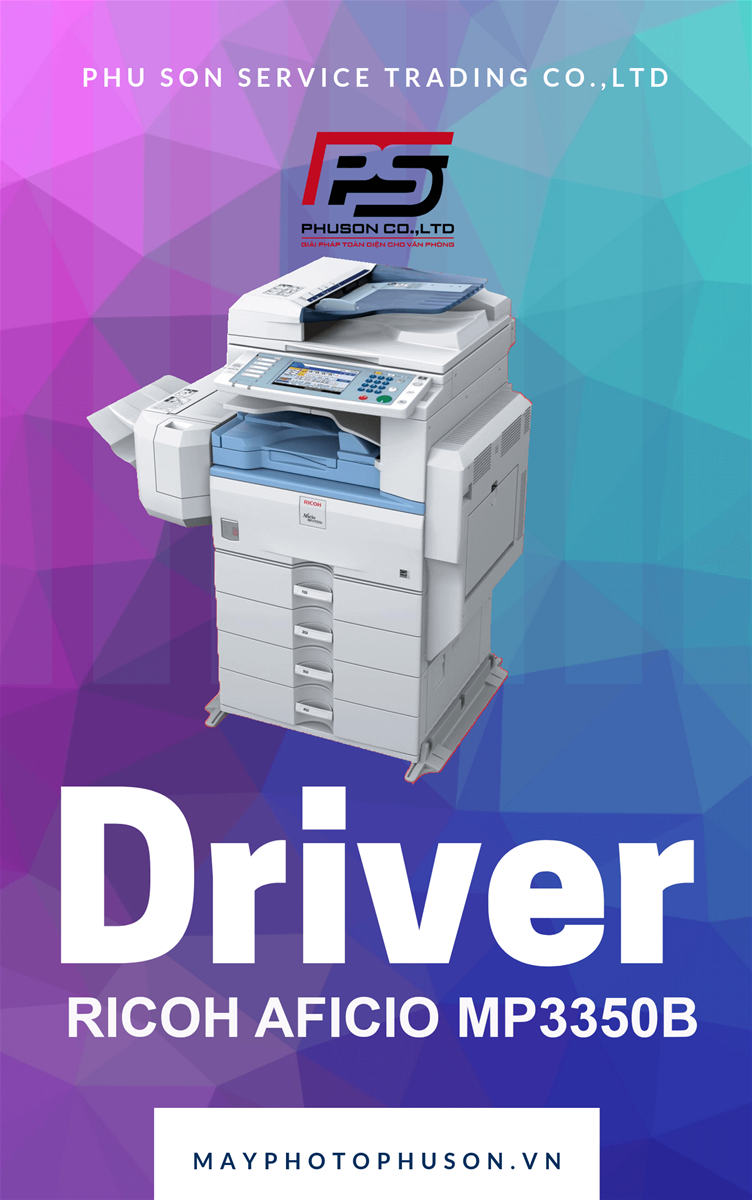 Download driver Máy Photocopy Ricoh Aficio MP 3550B