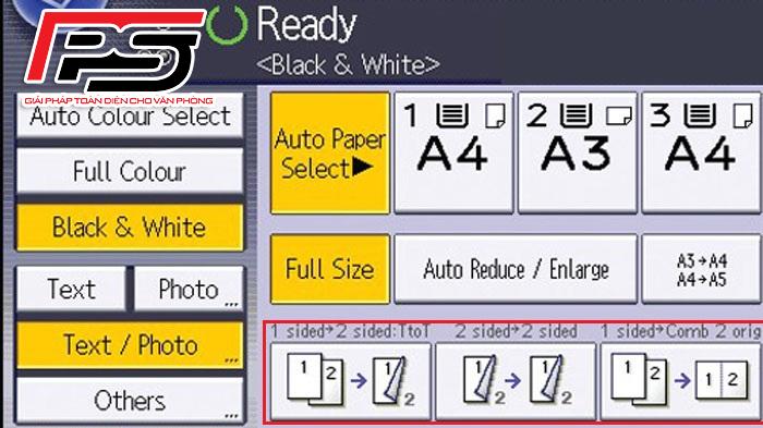 Cách photo trên 2 mặt để tiết kiệm giấy
