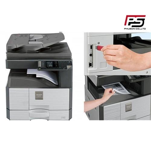 Hướng dẫn cài đặt kết nối máy photocopy với máy tính