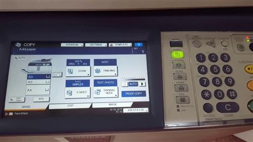 Hướng dẫn cài đặt khổ giấy cho dòng máy photocopy Toshiba