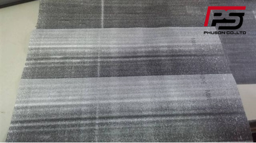 Máy photocopy ricoh bị đen nền