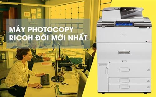 Top 5 máy photocopy Ricoh 2019 tốt nhất cho văn phòng
