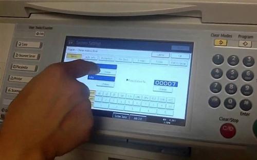 Hướng dẫn cách scan bằng máy photocopy Ricoh