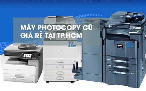 Địa chỉ mua máy photo cũ uy tín giá rẻ tại TP.HCM