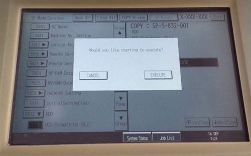 Hướng dẫn cách Format ổ cứng máy photocopy đơn giản nhất