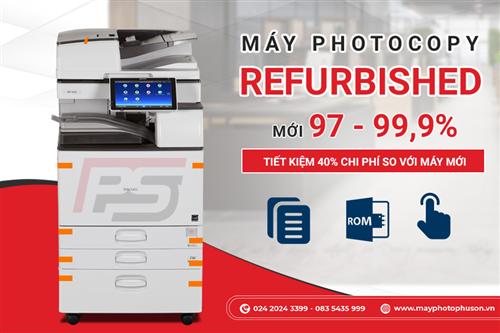 Điểm Danh Các Dòng Máy Photocopy Refurbished Văn Phòng Được Ưa Chuộng Năm 2021