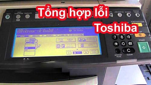 #1 Cách khắc phục lỗi thường gặp máy photocopy Toshiba- Phú Sơn
