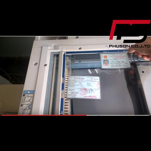4 bước đơn giản để Scan chứng minh nhân dân đơn giản trên máy photocopy Ricoh