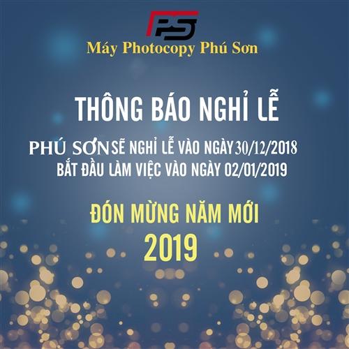 Thông báo nghỉ Tết dương lịch 2019
