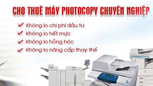 Top 5 máy photocopy nên thuê nhất năm 2020