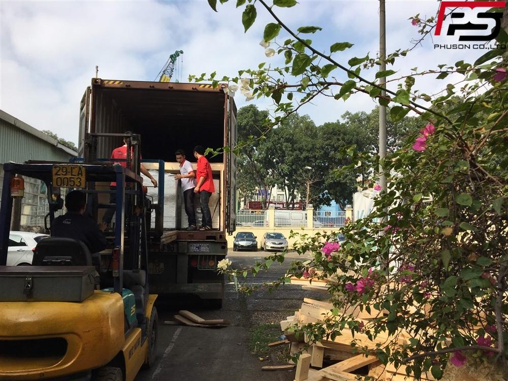 Chuyến container hàng về kho ngày 06/01/2020