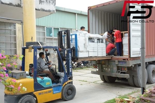 [UPDATE] Dỡ container hàng mới về kho ngày 23/12/2017