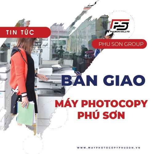 Bàn giao máy Photocopy Thành phố Hồ Chí Minh