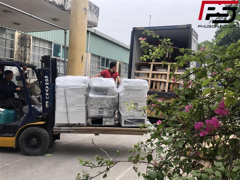 Chuyến container hàng về kho ngày 29/11/2019