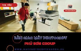 Bàn giao máy photocopy Tỉnh Viettel Post - Công ty Phú Sơn