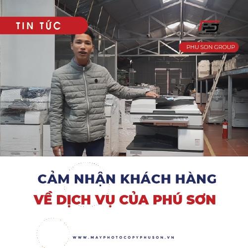 Cảm nhận khách hàng khi sử dụng dịch vụ của Phú Sơn