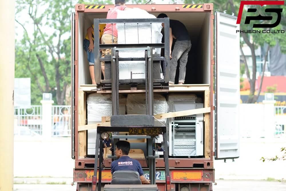 [UPDATE] Dỡ container hàng mới về kho ngày 09/05/2018