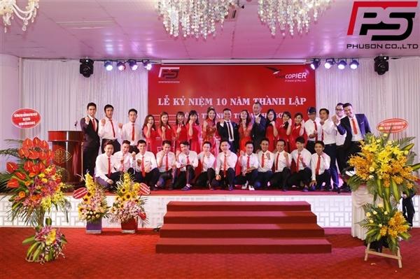 10 năm thành lập Công ty Phú Sơn