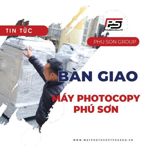 Bàn giao máy Photocopy Công ty TNHH IMC Group
