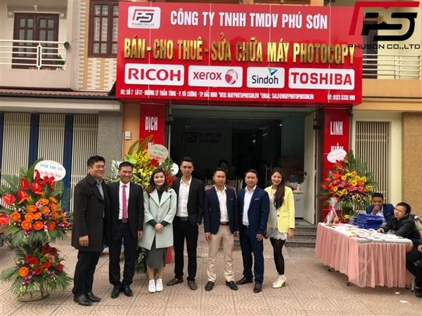 Tưng bừng khai trương chi nhánh Bắc Ninh - Công ty TNHH TMDV Phú Sơn