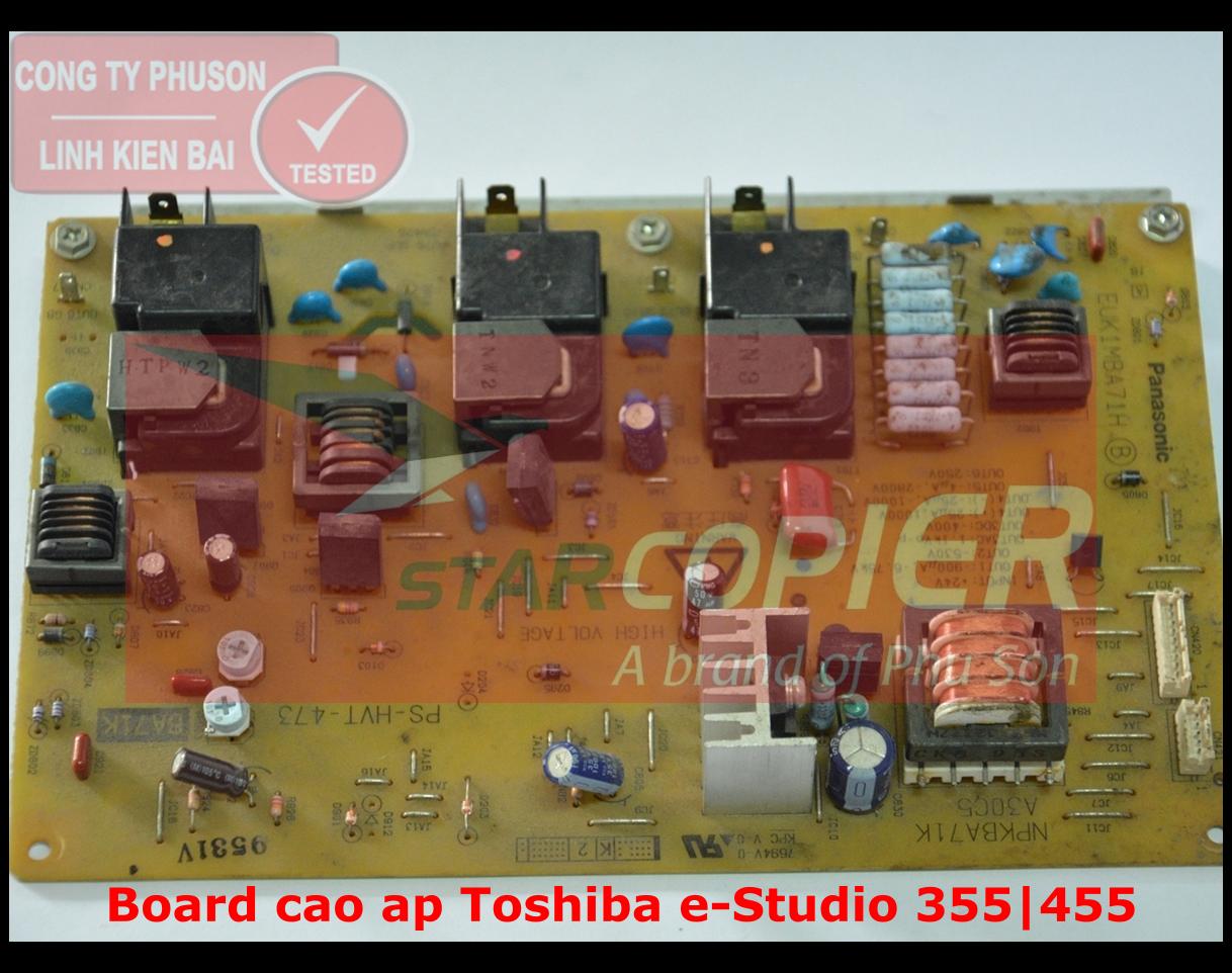 Board cao áp Toshiba e-Studio 355/455