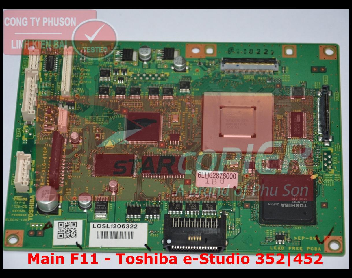 Main F11 Toshiba e-Studio 352/452