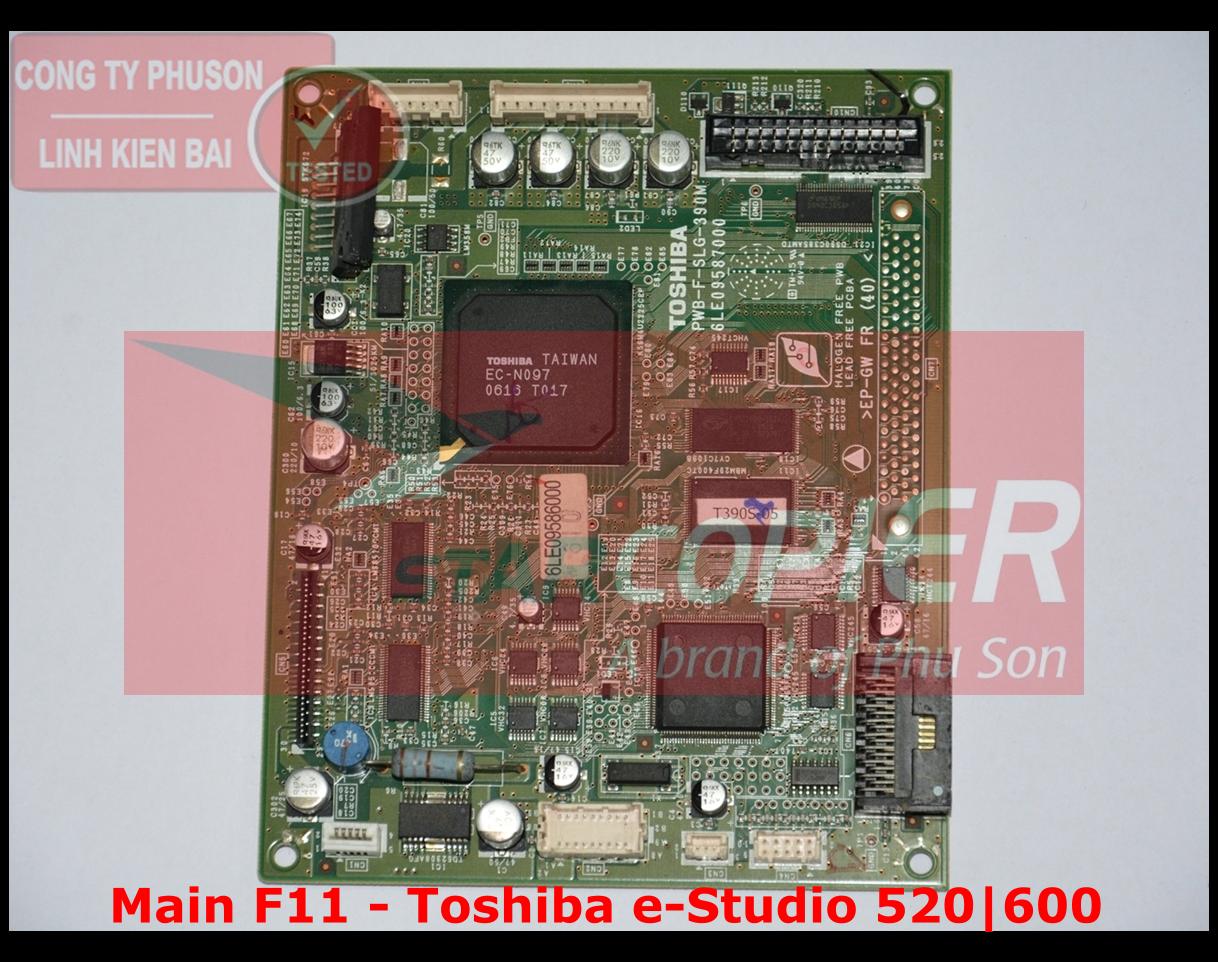 Main F11 Toshiba e-Studio 520/600/720