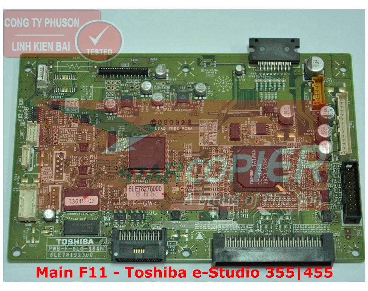 Main F11 Toshiba e-Studio 355/455